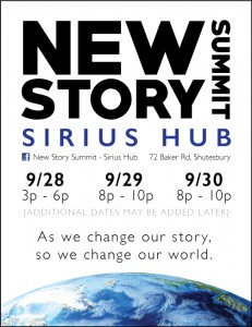 New Story Summit- Sirius Hub @ Sirius Community | Shutesbury | Massachusetts | United States